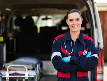 You could be an EMT with the help of the community colleges of Nebraska