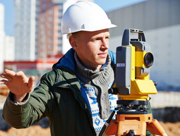 Learn to survey the land for Civil Engineering at the community colleges of Nebraska